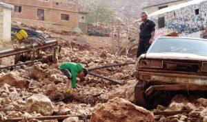 """بعد تساقط الامطار… أضرار """"كارثية"""" في البقاع الغربي"""