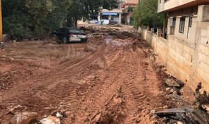 هيئة الإغاثة عاينت أضرار السيول في البقاع الغربي