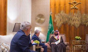 بن سلمان يلتقي مبعوث بوتين الخاص إلى سوريا