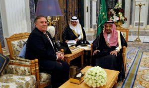 ولي العهد السعودي لبومبيو: البلدان حليفان قويان