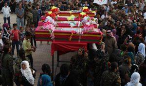 """مقتل 68 عنصرا من """"سوريا الديمقراطية"""" بهجمات لداعش بدير الزور"""