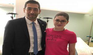 """حنكش يزور ميشال حجل في المستشفى… """"تعلمت منها الكثير""""!"""