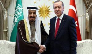 اتصال بين أردوغان والملك سلمان