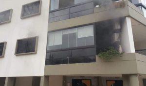 إخماد حريق داخل شقة في كفرياسين