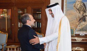 باسيل: لبنان وقطر اختارا الإبداع