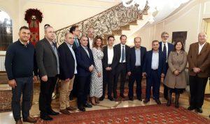 الحاج حسن: نشجع على مواصلة التعاون اللبناني الإيطالي