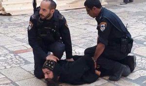 بالفيديو والصور: إسرائيل تعتدي على رهبان في القدس