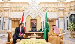 الحريري التقى الملك سلمان