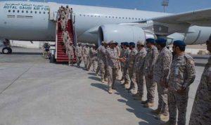 بالصور: القوات الجوية السعودية في الإمارات