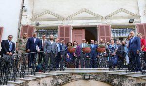 اجتماعات في الخارجية لتعزيز الشراكة بين لبنان والإتحاد الأوروبي