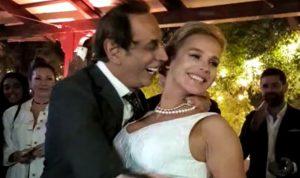 """بالفيديو – ماريو باسيل: """"نطرت بس لقيت"""" وقبلة حميمة لزوجته"""