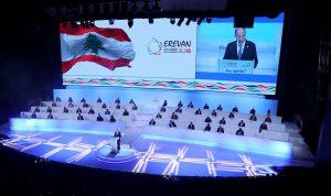 عون في قمة الفرنكوفونية: لبنان نجح في تجاوز اغراءات التقوقع على الذات