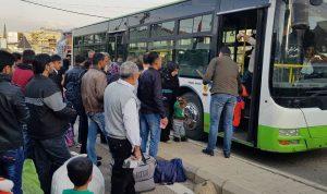 تأمين العودة الطوعية لـ 829 نازحاً سورياً