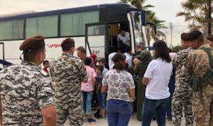 دفعة جديدة من النازحين السوريين تغادر لبنان