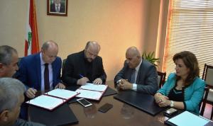 توقيع بروتوكول تعاون بين وزارة الإعلام والاتحاد العمالي العام