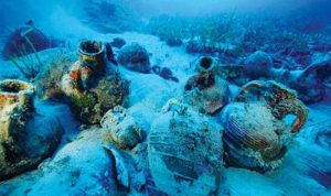 اكتشاف أثري في قاع البحر الأسود