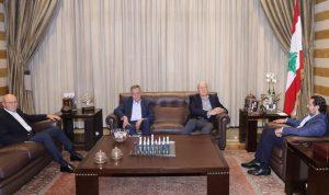 الحريري بحث مع رؤساء الحكومات السابقين الملف الحكومي