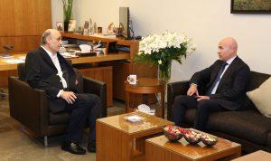 جعجع بحث مع سفير الأرجنتين الأوضاع العامة