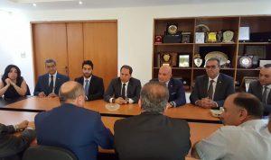 الجميل من مقر الاتحاد العمالي: للبدء بتنفيذ برنامج إصلاحي لإنقاذ لبنان
