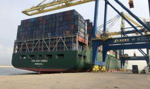 من الصين الى مرفأ طرابلس… وصول سفينة محملة بـ10 الاف حاوية