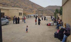 عائلات سورية غادرت العبودية الى بلادها