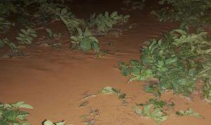 سيول في يونين تسببت أضرار كبيرة في المزروعات