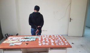 توقيف مروج مخدرات في ساحل الشوف