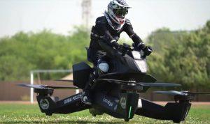 بالفيديو: الشرطة الإماراتية تتدرّب على استخدام الدراجات الطائرة