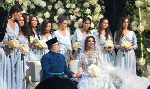 بالفيديو والصور: سلطان ماليزيا يتزوج ملكة جمال موسكو