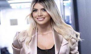 زوجة المهاجم الأرجنتيني إيكاردي تشعل مواقع التواصل
