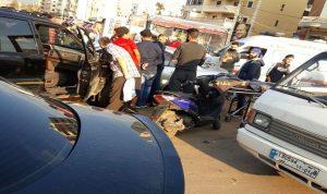 إصابة 3 أشخاص بحادث سير في طرابلس