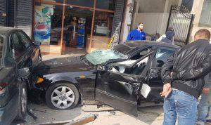 3 جرحى في حادث سير على طريق الضنية طرابلس