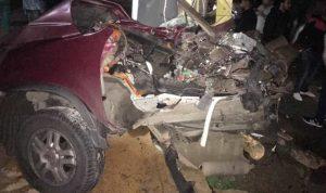 مقتل فتى في حادث سير تسبب بحادث آخر في بلدة انصار