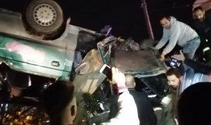 حادث أبلح – نيحا يخطف 4 شبان ويُصيب العشرات (بالفيديو والصور)