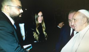 أحمد الحريري للبابا فرنسيس: لبنان يحتاج إلى بركتك