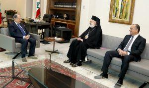 المطران عودة من بعبدا: لحفظ حقوق الارثوذكس في الوزارة والادارة