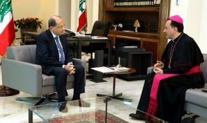 البابا فرنسيس لعون: قضية السلام في الشرق الأوسط هي همّ مشترك