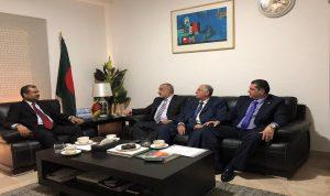 اجتماع لتطوير العلاقات التجارية بين لبنان وبنغلادش