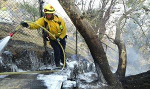 العثور على جثث عديدة بالمنازل المحترقة في كاليفورنيا