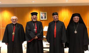 البطاركة الكاثوليك إلى بغداد