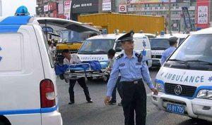 في الصين… سيارة تدهس مجموعة من المشاة