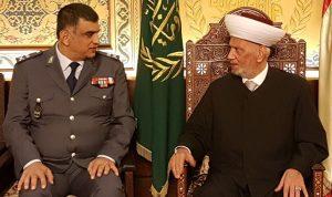 دريان نوه بجهود عثمان في حفظ الأمن والاستقرار
