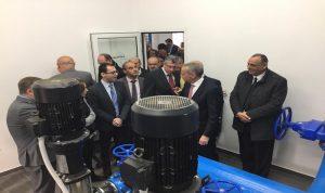 السفارة الاميركية تفتتح محطة ضخ جديدة في غزّة البقاعية