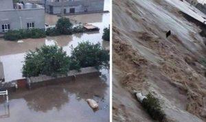 بالصور: السيول تلف شوارع العراق وتجتاح البيوت