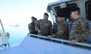 قائد الجيش: التحدي الأكبر لنا ضبط الحدود البحرية