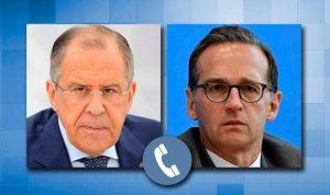 لافروف لبرلين: للتأثير على كييف من أجل منع تكرار الاستفزازات