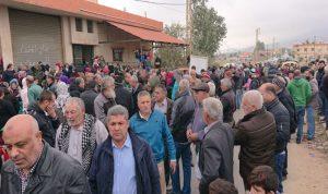 اعتصام في حوش الرافقة احتجاجا على تلوث الليطاني