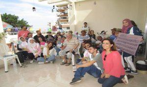 """جمعية """"معكم"""" وأيام من الخدمة الاجتماعية في طرابلس"""