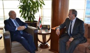الصفدي عرض وسفير لبنان في واشنطن شؤون طرابلس والمنطقة