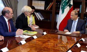 عون: نسعى لنقل الاقتصاد اللبناني الريعي إلى اقتصاد إنتاجي